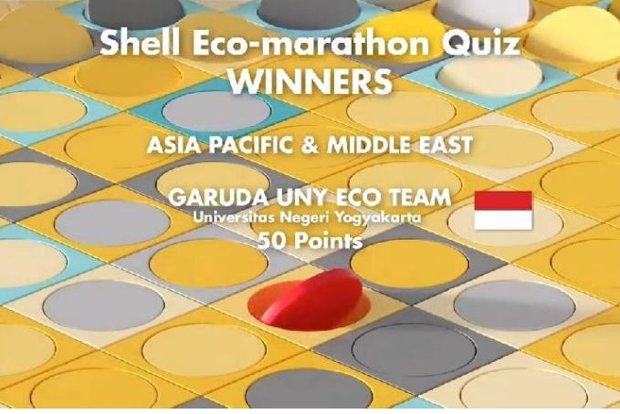 Shell eco marathon